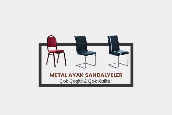 Metal Ayak Sandalyeler