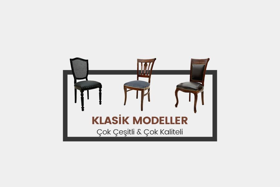 klasik sandalye modelleri
