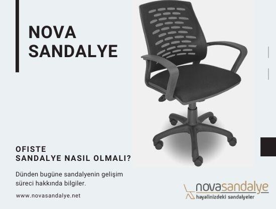 Ofiste Sandalye Nasıl Olmalı?